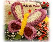 Postales dia de las Madres flores