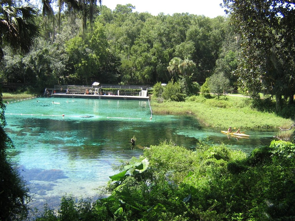 Rainbow springs - beautiful water park - pictures
