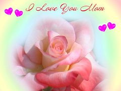 Mothers day greeting cards a love rose card for your mom to greet her in a special way m4hsunfo