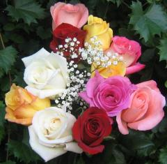 Bouquet de roses - cartes  virtuelles