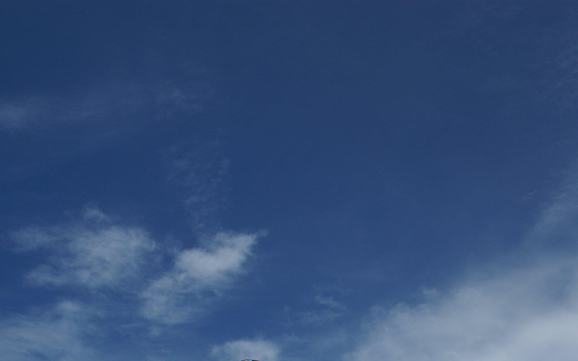 Tropen himmel hintergrund