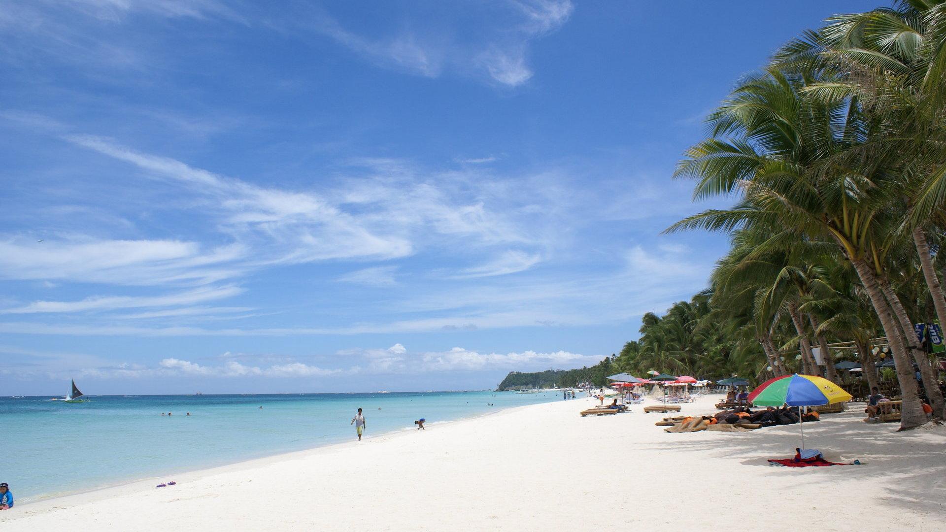 boracay beach hq wide - photo #1
