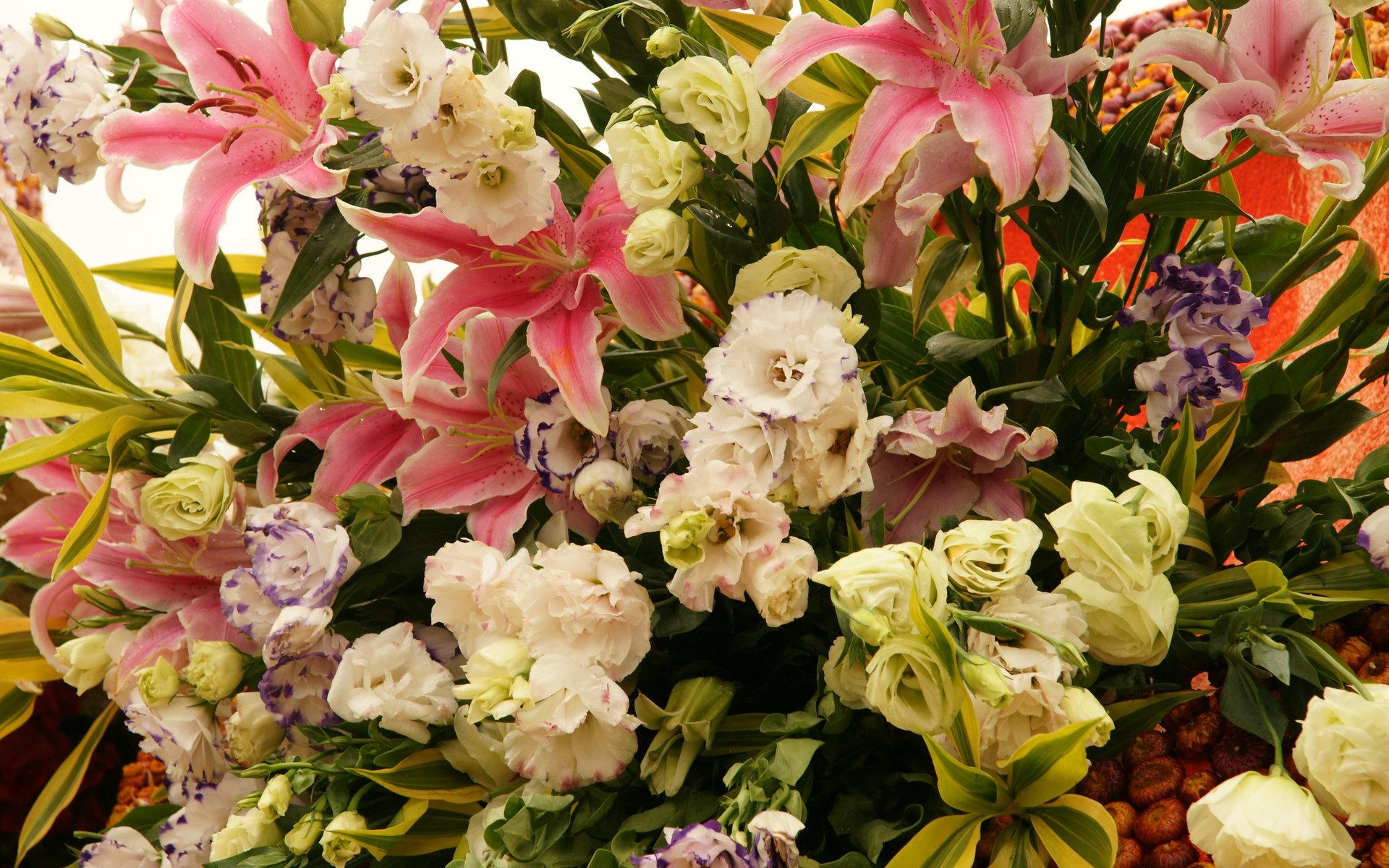 Букеты цветов открытках